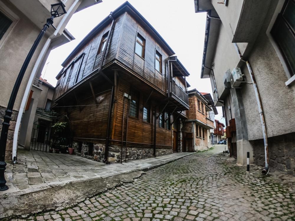 Старият град Созопол през Март 2