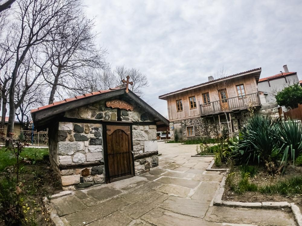 Старият град Созопол през Март 12