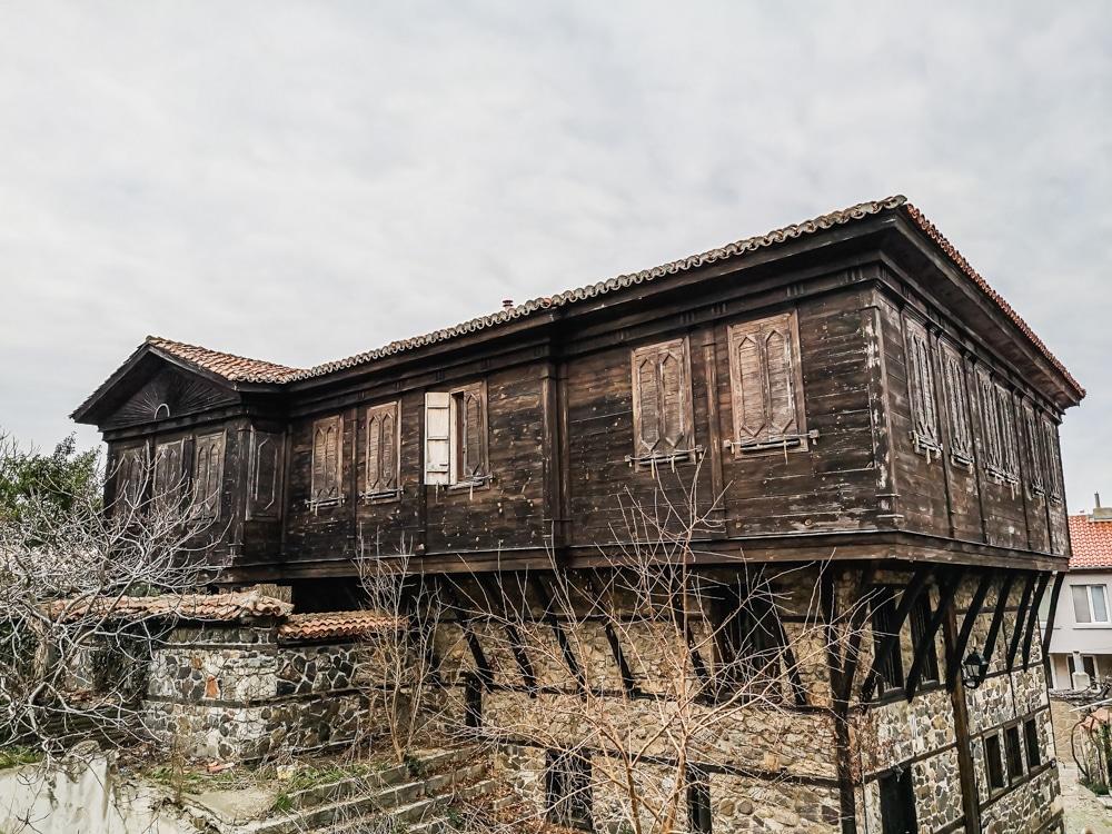 Старият град Созопол през Март 6