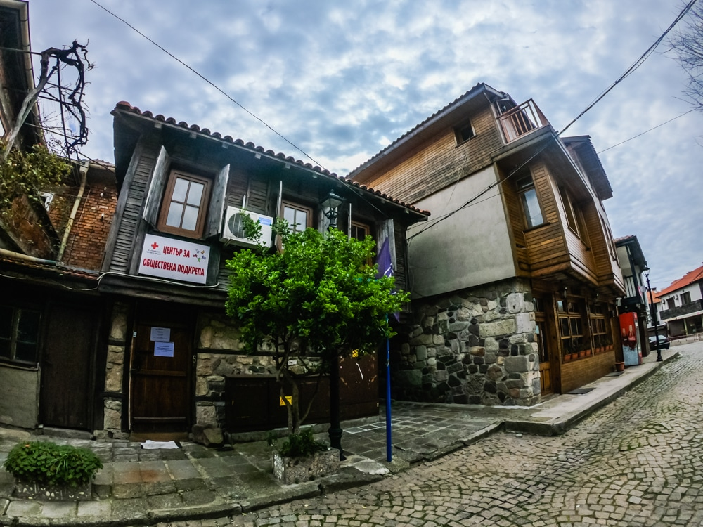Старият град Созопол през Март 7