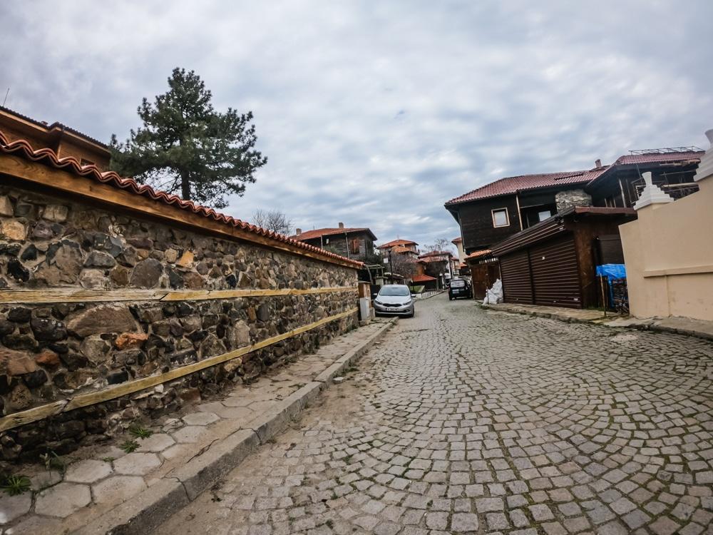 Старият град Созопол през Март 8
