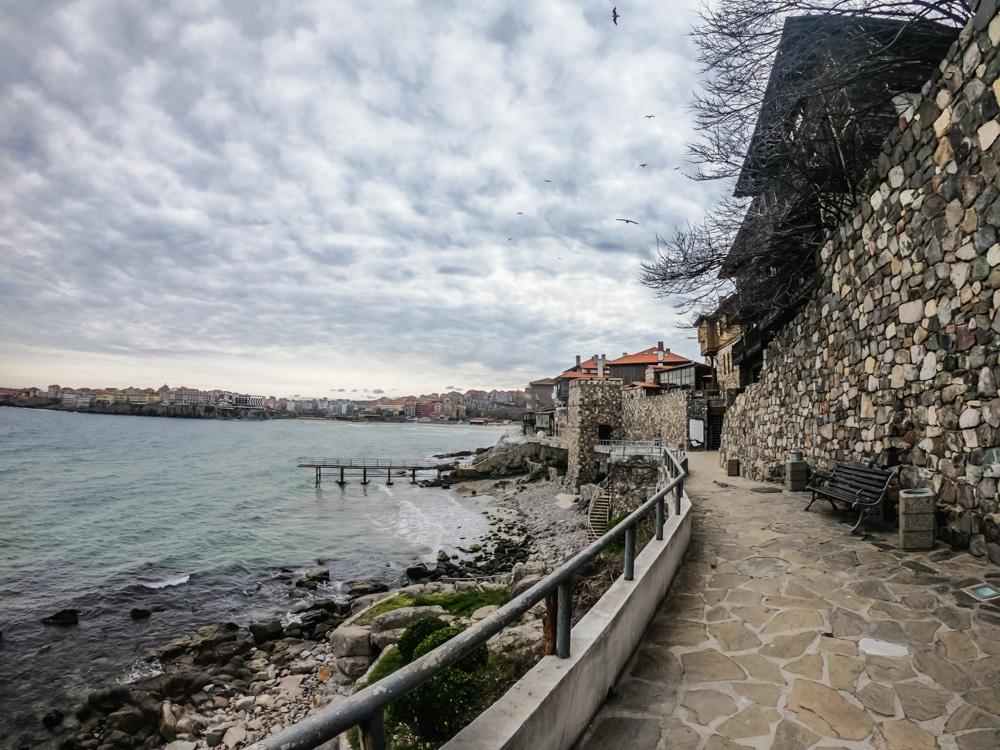 Старият град Созопол през Март 9