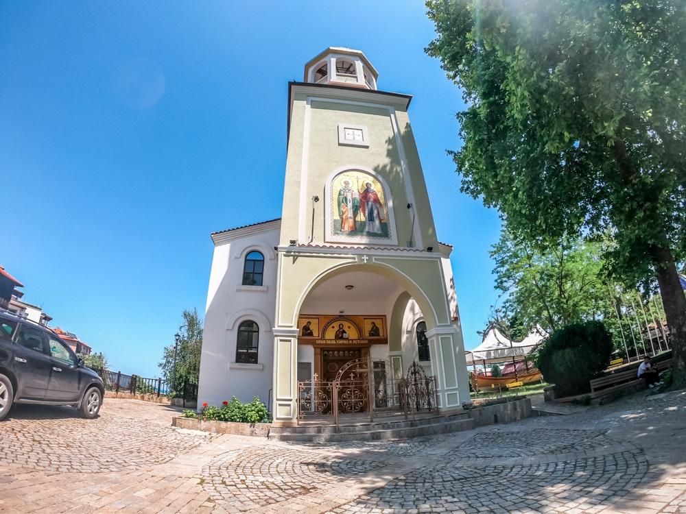 Църквата Св. св. Кирил и Методий в Созопол 1