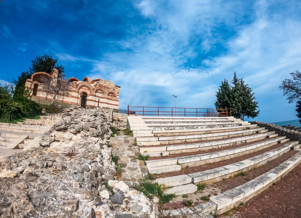 Античният амфитеатър в Несебър 3