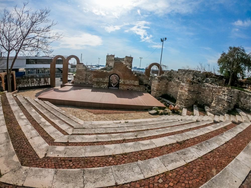Античният амфитеатър в Несебър 5