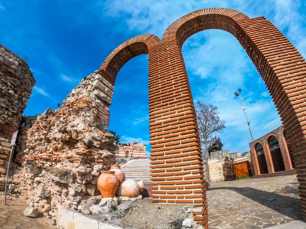Античният амфитеатър в Несебър 1