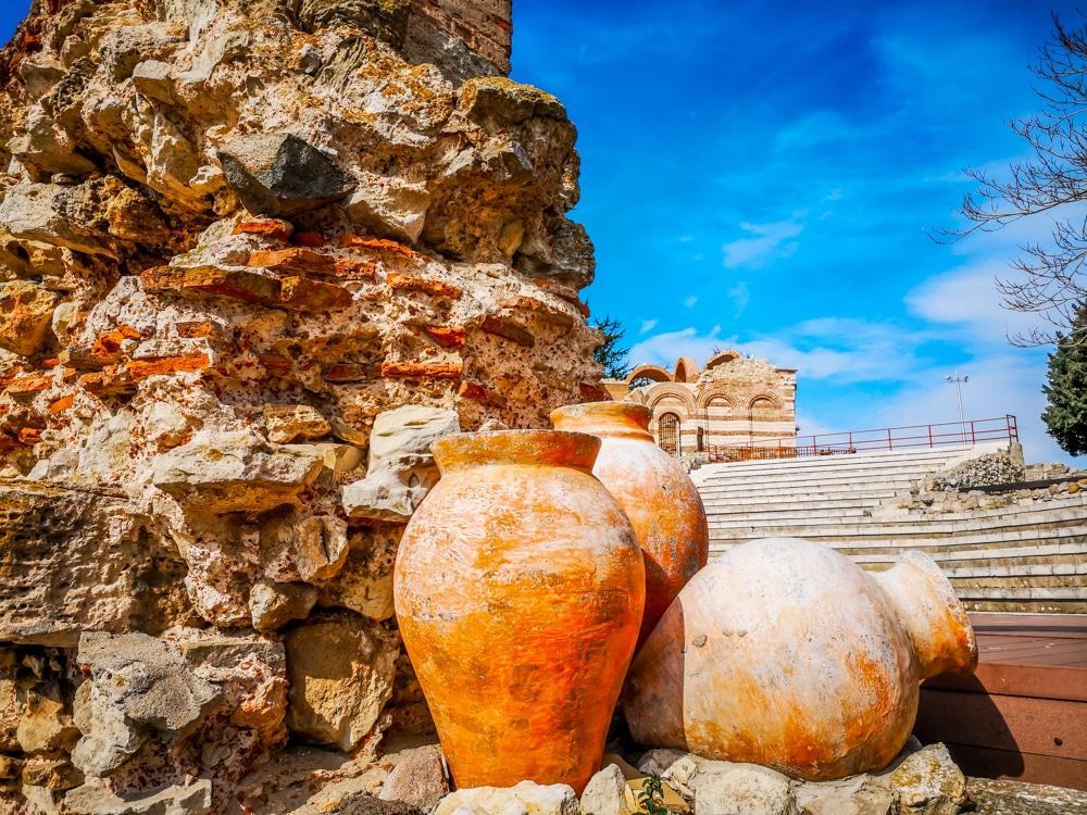 Античният амфитеатър в Несебър 2