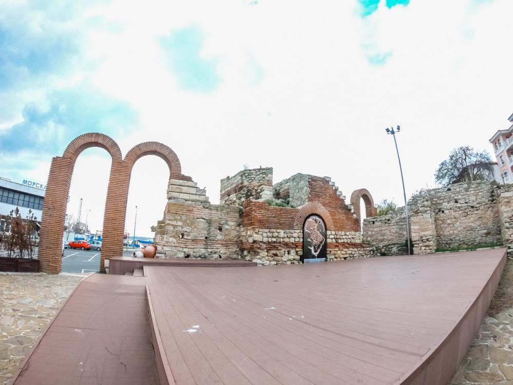 Античният амфитеатър в Несебър 6