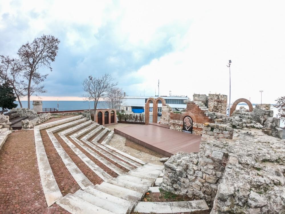 Античният амфитеатър в Несебър 7